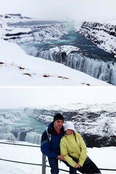 Visit Gullfoss waterfall in Iceland! Read our top 10 things to do in Iceland!