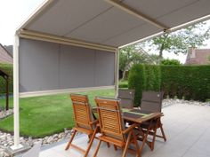 Zonwering, zonweringen, terras, veranda, horizontaal, zonwering, UV bestendig, Lumisol, Combisol, windvast