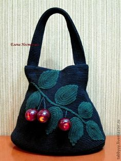 Сумочка с черешнями.. Романтичная сумочка с черешнями, подарит вам приятное настроение и романтичный шик для окружающих. Или просто сказать- ВКУСНЯТИНКА  Цена 1.500руб + 300руб за пересылку по…