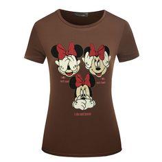 Kawaii T Shirt Women Clothes 2017 Summer Fashion Tshirt Print T-shirt Tees Rock-shirt Camisetas Tops Funny T Shirts Plus Size Rock Shirts, Sexy Shirts, T Shirts For Women, Women's Shirts, Style Casual, Casual Tops, T Shirt And Shorts, Tee Shirt, Plus Size T Shirts
