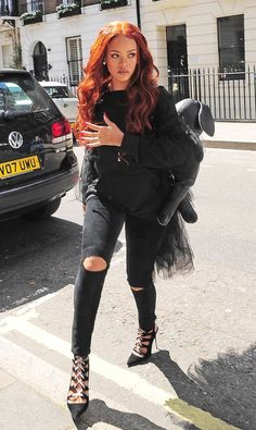 rihannainfinity:  May 26: Rihanna out and about in London
