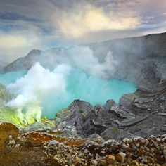 Ijen Crater: The World's Largest Acidic Volcanic Crater Lake