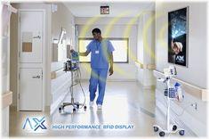 LANÇAMENTO: Smart RFID Display: O seu próximo investimento em Hospital 4.0  Temos orgulho de lançar o Display Scanner RFID Inteligente com capacidade de ler as tags RFID anexadas aos equipamentos médicos há uma distancia de até 6 metros.  Através da nossa parceria com a Activa-ID ™ e IDVIDA™, incorporamos a tecnologia do Display Scanner RFID no SmartX HUB®, nossa plataforma de gerenciamento de ativos (RTLS) para o setor de saúde.  Nosso Display colocado em local estratégico ou corredore… Tracking Software, Tags, Medical Equipment, Investing, Pride, Places, Distance, Platform, Tecnologia