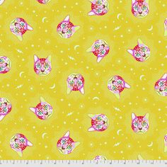 CURIOUSER AND CURIOUSER by TULA PINK Quilt Fabric - 1 yd | eBay Tula Pink Fabric, Cotton Fabric, Woven Cotton, Woven Fabric, Free Spirit Fabrics, White Rabbits, Quilting, Thing 1, Quilt Sizes