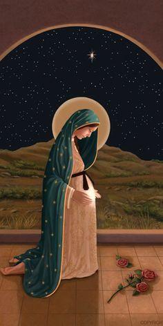 Nossa Senhora grávida Pregnant Mother Mary