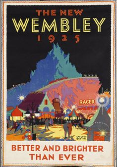 The New Wembley  1925  London, England