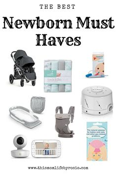 Newborn | Must Haves | Favorite Baby Items | Shower Gifts
