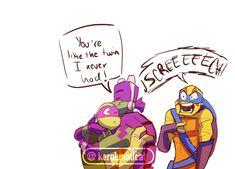 Ninja Turtles Art, Baby Turtles, Teenage Mutant Ninja Turtles, Ninja Turtle Toys, Tmnt 2012, Marvel Universe Movies, Tmnt Leo, Tmnt Comics, Cartoon Shows