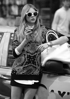 Cara Delevingne - DKNY Spring 2014 Ad Campaign Behind the Scenes.