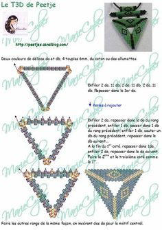Triangle Pendant Tutorial