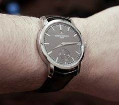 Vacheron Constantin Patrimony Traditionnelle Small Seconds Grey Watch Hands-On