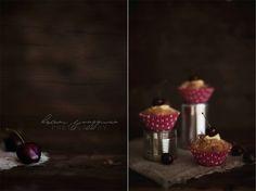 Rhubarb Muffins with Vanilla Cream Filling by Helena Ljunggren