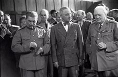 4 au 11 février 1945 - Conférence de Yalta avec Joseph Staline, Franklin D. Roosevelt & Winston Churchill