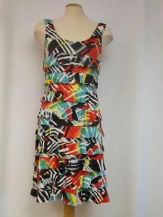 DR760-632 Tango Mango, Ruffle dress – Silhouette Fashion Boutique
