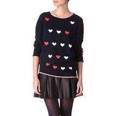 OASIS Heart jumper         £35.00
