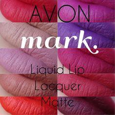 AVON - MARK - Liquid Lip Lacquer Matte - Orange You Happy  AVON lipstick mark matte orange red