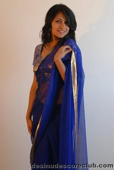 Wife Real Life Deep Navel Shows In Saree