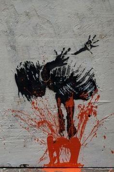'splash' street art