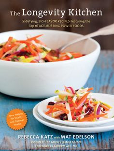 Cookbook review:  The Longevity Kitchen  by #RebeccaKatz
