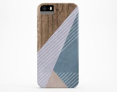 iPhone 5 case Wood iPhone 5s case Wood iPhone 6 case Color Block iPhone case Pastel iPhone 4s case protective iphone 4 case, spring
