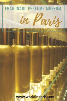 Perfume Museum Paris. Free Museum in Paris. Maison Fragonard proposes this beautiful museum in Paris to know all about perfumes and Parisian perfumes shopping