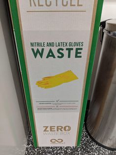 Latex Gloves, Plastic Packaging, Daily Activities, All The Way, Zero Waste, Type 3, Theater, Lab, Recycling