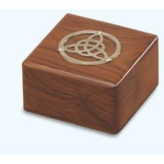 Wooden Celtic Box with Trinity Knot, Irish Gifts for Him, Gifts at Celtic Hills