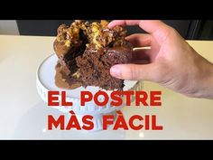 Hoy vamos a presentarte un delicioso pastel de chocolate sin horno que Claudio ha presentado en su canal de Youtube. Carnitas, Sin Gluten, Kitchen Recipes, Cereal, Sweets, Breakfast, Desserts, Food, Queso