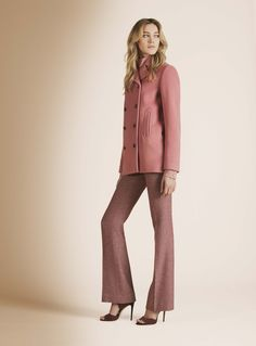 Pantsuit Perfection from another favorite brand; Kiton Fall 2016 Ready-to-Wear Fashion Show