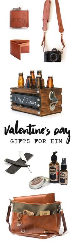 Your man deserves the best this year, so hook him up with some of our favorite maker-made goods. From handmade leather wallets, bags, and camera straps to beard care goods and everything the beer lover could ever want, these unique gifts will show the man in your life just how special you think he is.