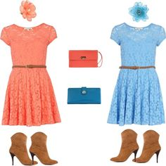 Mary Kate & Ashley Olson vibe, created by jmcgee330 on Polyvore