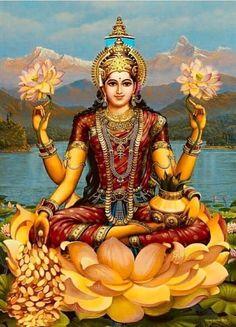 Saraswati Goddess, Shiva Shakti, Goddess Art, Goddess Lakshmi, Durga Maa, Hare Krishna, Lakshmi Images, Lakshmi Photos, Indian Goddess
