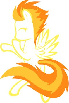 My Little Pony: Friendship is Magic Spitfire outline