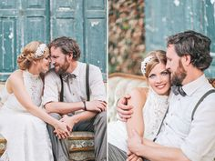 a beautiful vintage wedding in Germany