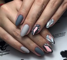 What you need to know about acrylic nails - My Nails Trendy Nail Art, Stylish Nails, Spring Nail Art, Spring Nails, Shellac Nails, Nail Manicure, Cute Acrylic Nails, Cute Nails, Hair And Nails