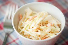 Coleslaw – der original amerikanische Krautsalat als Beilage zum BBQ oder Burger.