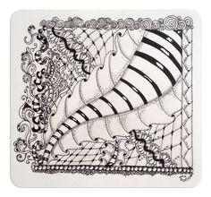 einFach Zauberhaft: Fandango Dragonair Dragonair, Doodles Zentangles, Zentangle Patterns, Types Of Drawing, Doodle Ideas, Zen Doodle, Tangled, Art Projects, Shapes