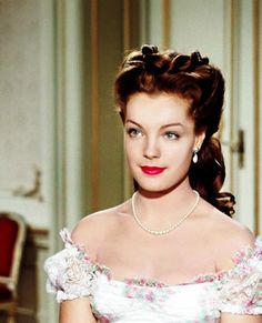 """Romy Schneider as Empress Elisabeth (Sissi) of Austria. """"Sissi Trilogy"""" (""""Sissi"""" / """"Sissi: The Young Empress"""" / """"Sissi: The Fateful Years of an Empress"""") Sissi Film, Impératrice Sissi, Romy Schneider Sissi, Empress Sissi, Divas, Actrices Hollywood, French Actress, Old Hollywood Glamour, Elizabeth Taylor"""