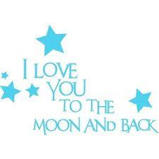 Resultado de imagen de short sentences with moon for babies