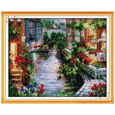Home & Garden Confident Garden Counted Cross Stitch 11ct Printed 14ct Cross Stitch Set Diy Chinese Cotton Cross-stitch Kit Embroidery Needlework High Quality Goods