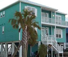 Gulf Shores ♥ Stayed in this house on Kassidy's first trip to the beach!