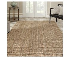 I like the look of this sisal runner and it's a good size. Hand-woven Jute Weaves Natural-colored Sisal Rug x Natural Fiber Rugs, Natural Area Rugs, Natural Rug, Natural Brown, Natural Carpet, Natural Beauty, Lohals, Living Tv, Living Rooms