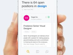 Job Spotting iOS App