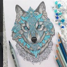 Волки, лисы | 377 фотографий