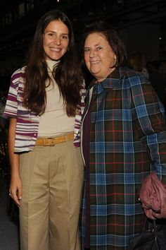 Margherita Missoni and Vogue International's Suzy Menkes