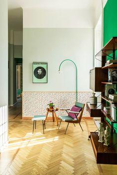 Fantastiska färgval och ljuvliga mönster i Milano | ELLE Decoration
