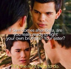 Breaking Dawn part 1 ~ Jacob and Seth Twilight Saga Quotes, Twilight Saga Series, Twilight Edward, Twilight Series, Twilight Movie, Funny Twilight, Edward Bella, Movie Quotes, Book Quotes