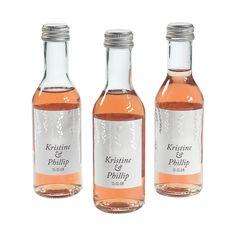 Personalized+Silver+Mini+Wine+Bottle+Labels+-+OrientalTrading.com