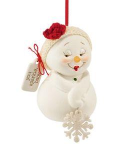 Department 56 Snowpinions You Sparkle Ornament