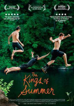 The Kings of Summer de Jordan Vogt-Roberts - Film Poster Design, Movie Poster Art, Film Posters, Movie Info, Movie List, I Movie, Sad Movies, Movies To Watch, The Kings Of Summer